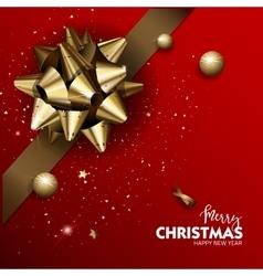 Elegant Merry Christmas or Happy New Year vector