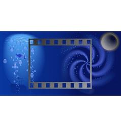 Film land vector image