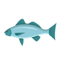 Generic sea fish vector