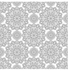 oriental abstract ornament vector image