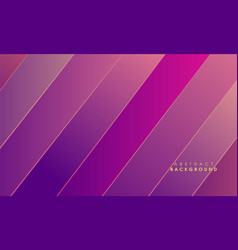 Purple abstract with golden line background vector