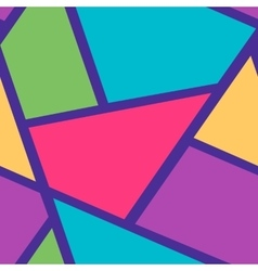 Seamless background pattern with triangles and vector image