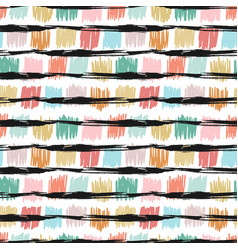 seamless pattern with fashion texture background vector image