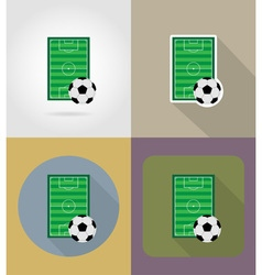 sport flat icons 61 vector image