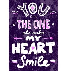 Saint Valentines typography vector image vector image