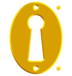 Keyhole vector image vector image