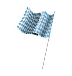 bavarian official flag symbol banner vector image