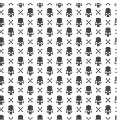 halloween pattern design for background vector image vector image