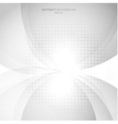Abstract modern white and gray circles vector