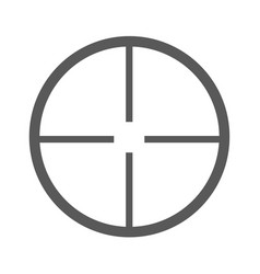 aim icon simple vector image