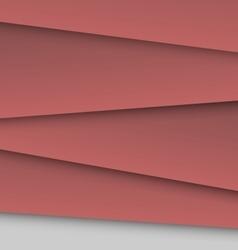 Dark red overlap layer paper material design vector