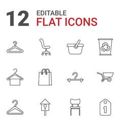Empty icons vector