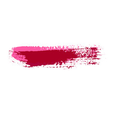 Grunge brush strokes colorful brush vector