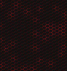 hexagonal pattern hexagons structure geometric vector image
