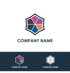 Universal template logo vector