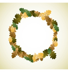 autumn theme vector image vector image