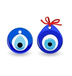 Amulet Evil Eye Isolated Protective Talisman vector image vector image