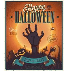 Halloween flyer2 vector