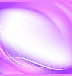 abstract smooth violet lines vector image