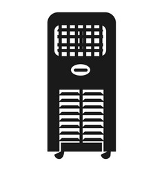 air cleaner icon simple style vector image