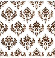 damask texture vector image