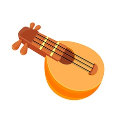 Icon string instrument vector