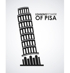 ltower of pisa vector image