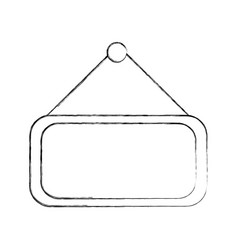 Market label door icon vector