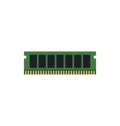 RAM icon flat style vector