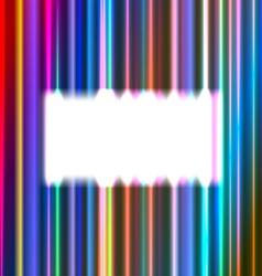 White rectangular frame vector image