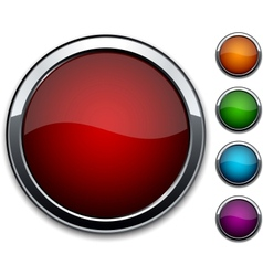 High-detailed buttons vector image