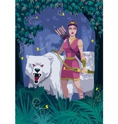 Artemis vector image vector image