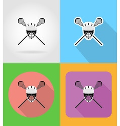 sport flat icons 01 vector image vector image