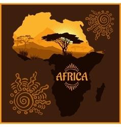 Africa - poster vector