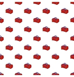 Bag pattern cartoon style vector