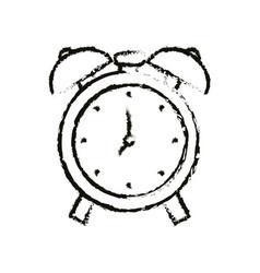bells alarm clock vector image