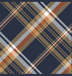 blue check diagonal seamless fabric texture vector image
