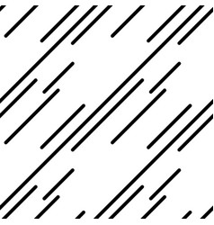 geometric pattern in black and white style vector image