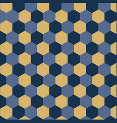 Geometrical background with hexagons vector