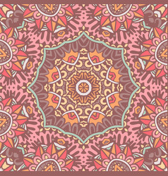 Mandala ethnic boho tribal pattern vector