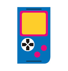 Retro videogame design vector