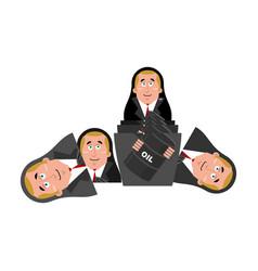 russian matrioshka political russia national doll vector image