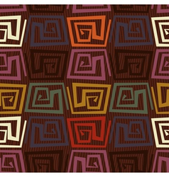 Seamless pattern in tribal style vector