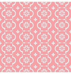 Pastel retro pattern vector image