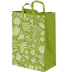 Grocerie Paper bag vector image vector image