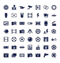 49 film icons vector