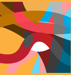 abstract geometric multicolored background vector image