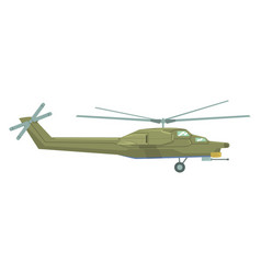air force helicopter flying military industry vector image