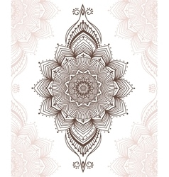 Beautiful card vector image