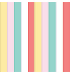 colorful lines pattern vector image vector image